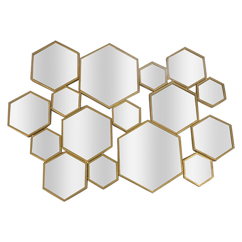 Espejo Multi-Hexagonal